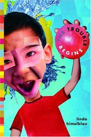 Cover art for THE TROUBLE BEGINS