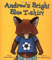 ANDREW'S BRIGHT BLUE T-SHIRT by Jessica Wollman