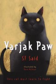 Book Cover for VARJAK PAW