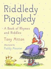 Cover art for RIDDLEDY PIGGLEDY