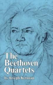 THE BEETHOVEN QUARTETS by Joseph Kerman
