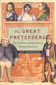 THE GREAT PRETENDERS by Jan Bondeson