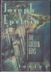 THE GOLDIN BOYS by Joseph Epstein