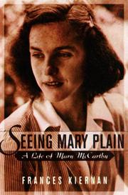 SEEING MARY PLAIN by Frances Kiernan