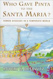 WHO GAVE PINTA TO THE SANTA MARIA? by Robert S. Desowitz