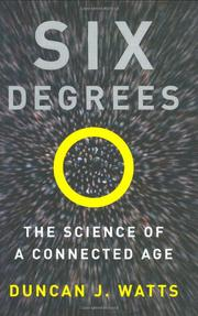 SIX DEGREES by Duncan J. Watts