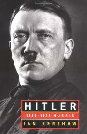 HITLER by Ian Kershaw
