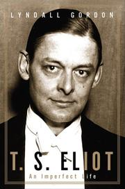 Book Cover for T.S. ELIOT