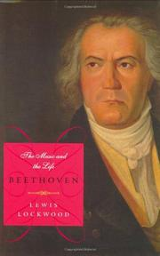 BEETHOVEN by Lewis Lockwood