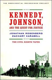 Book Cover for KENNEDY, JOHNSON, AND THE QUEST FOR JUSTICE