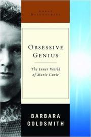 OBSESSIVE GENIUS by Barbara Goldsmith
