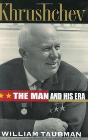 Book Cover for KHRUSHCHEV