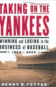 TAKING ON THE YANKEES by Henry D. Fetter