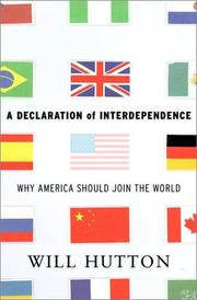 Cover art for A DECLARATION OF INTERDEPENDENCE