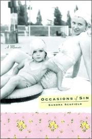 OCCASIONS OF SIN by Sandra Scofield