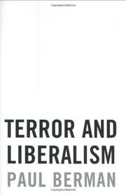 Book Cover for TERROR AND LIBERALISM