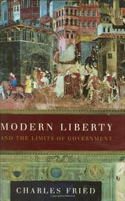 MODERN LIBERTY by Charles Fried