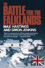 Cover art for THE BATTLE FOR THE FALKLANDS