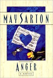 ANGER by May Sarton