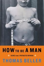 Cover art for HOW TO BE A MAN