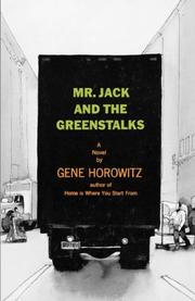 MR. JACK AND THE GREENSTALKS by Gene Horowitz