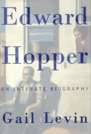 EDWARD HOPPER by Gail Levin