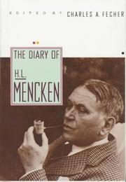 THE DIARY OF H.L. MENCKEN by H.L. Mencken