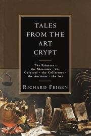 TALES FROM THE ART CRYPT by Richard Feigen