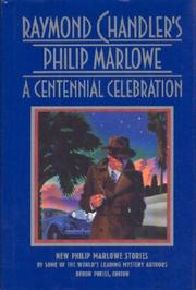 Cover art for RAYMOND CHANDLER'S PHILIP MARLOWE