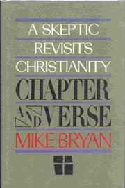 CHAPTER AND VERSE by Michael Bryan
