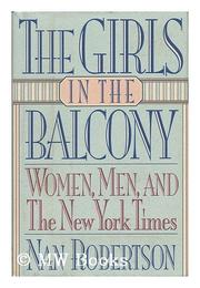THE GIRLS IN THE BALCONY by Nan Robertson