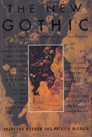 THE NEW GOTHIC by Bradford Morrow