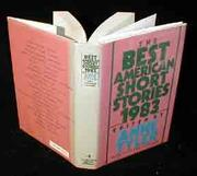 THE BEST AMERICAN SHORT STORIES 1983 by Anne Tyler