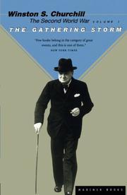 THE SECOND WORLD WAR, VOLUME 1 by Winston S.  Churchill