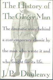 THE HISTORY OF THE GINGER MAN by J.P. Donleavy