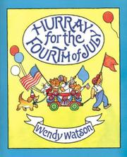 Cover art for HURRAY FOR THE FOURTH OF JULY