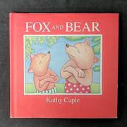Cover art for FOX AND BEAR