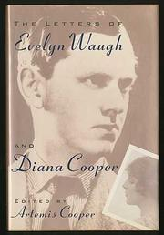 Cover art for THE LETTERS OF EVELYN WAUGH AND DIANA COOPER