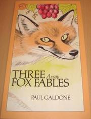 Cover art for THREE AESOP FOX FABLES