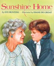 Cover art for SUNSHINE HOME