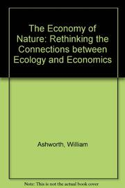 THE ECONOMY OF NATURE by William Ashworth