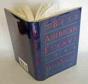 THE BEST AMERICAN ESSAYS 1994 by Tracy Kidder