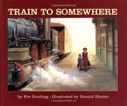 Cover art for TRAIN TO SOMEWHERE