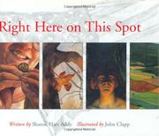 RIGHT HERE ON THIS SPOT by Sharon Hart Addy