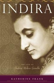 Book Cover for INDIRA