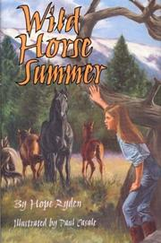 WILD HORSE SUMMER by Hope Ryden