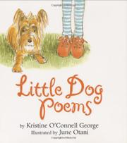 LITTLE DOG POEMS by Kristine O'Connell George