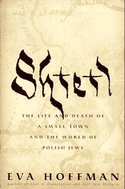 SHTETL by Eva Hoffman