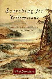 Book Cover for SEARCHING FOR YELLOWSTONE