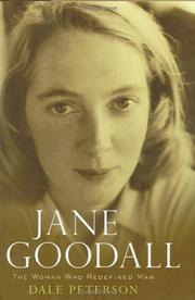 JANE GOODALL by Dale Peterson